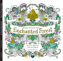 Enchanted Forest Hutan Pesona Inky Malay Edition An Quest